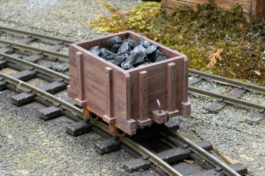 Phil Sharples Small Welsh Coal Wagon
